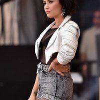 """Ahora tiene 23 años y su más reciente álbum es """"Confident"""". Foto:Getty Images"""