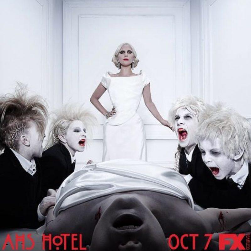 """En """"American Horror Story: Hotel"""", Lady Gaga es la protagonista de la quinta emisión. Foto:vía instagram.com/ladygaga"""