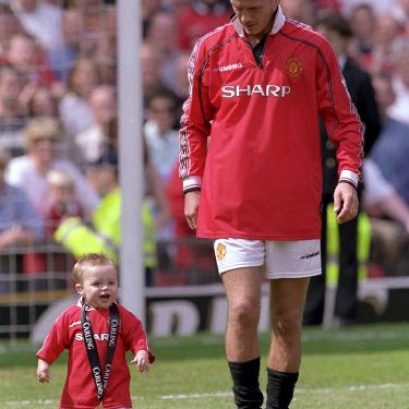 Brooklyn Joseph Beckham es el primer hijo de la estrella inglesa David Beckham. Foto:Getty Images