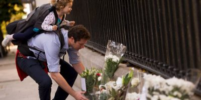 ESPAÑA: Ofrenda en Madrid. Foto:Getty Images