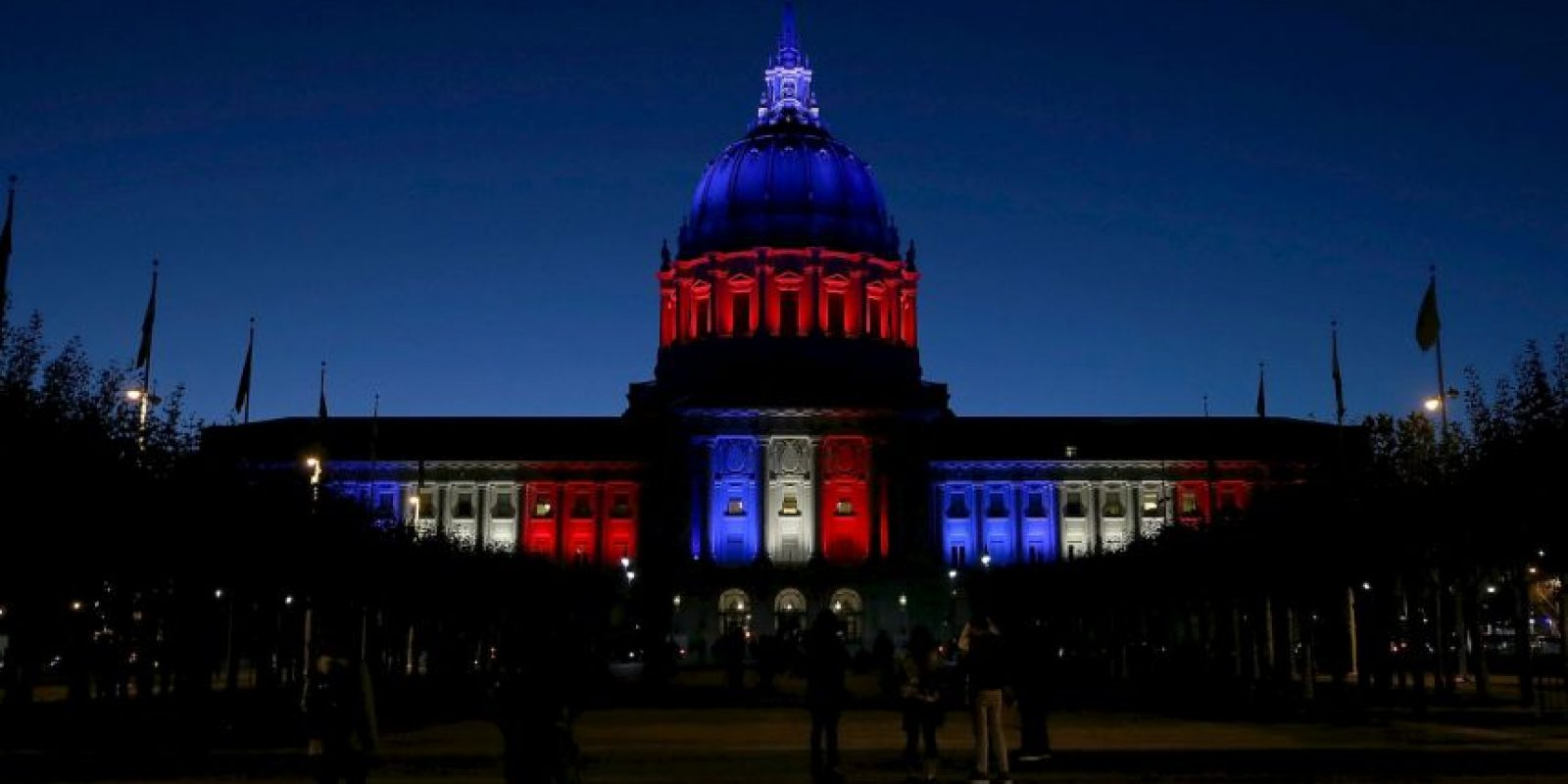 ESTADOS UNIDOS: Palacio de Gobierno de San Francisco. Foto: Getty Images
