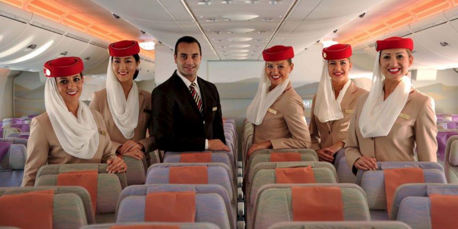 La compañía agregó 130 asientos luego de eliminar su primera clase. Foto:Vía facebook.com/Emirates