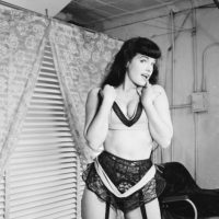 Se hizo famosa por tomarse fotos de sadomasoquismo. Foto:vía Getty Images