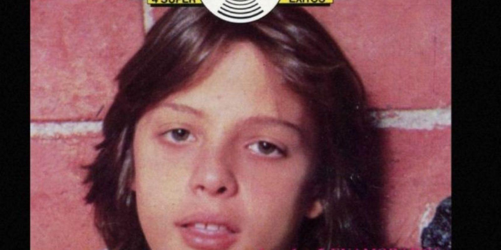 Luis Miguel en los años 80 comenzó como ídolo adolescente. En 1984 participó en el cine. Foto:vía Coveralia