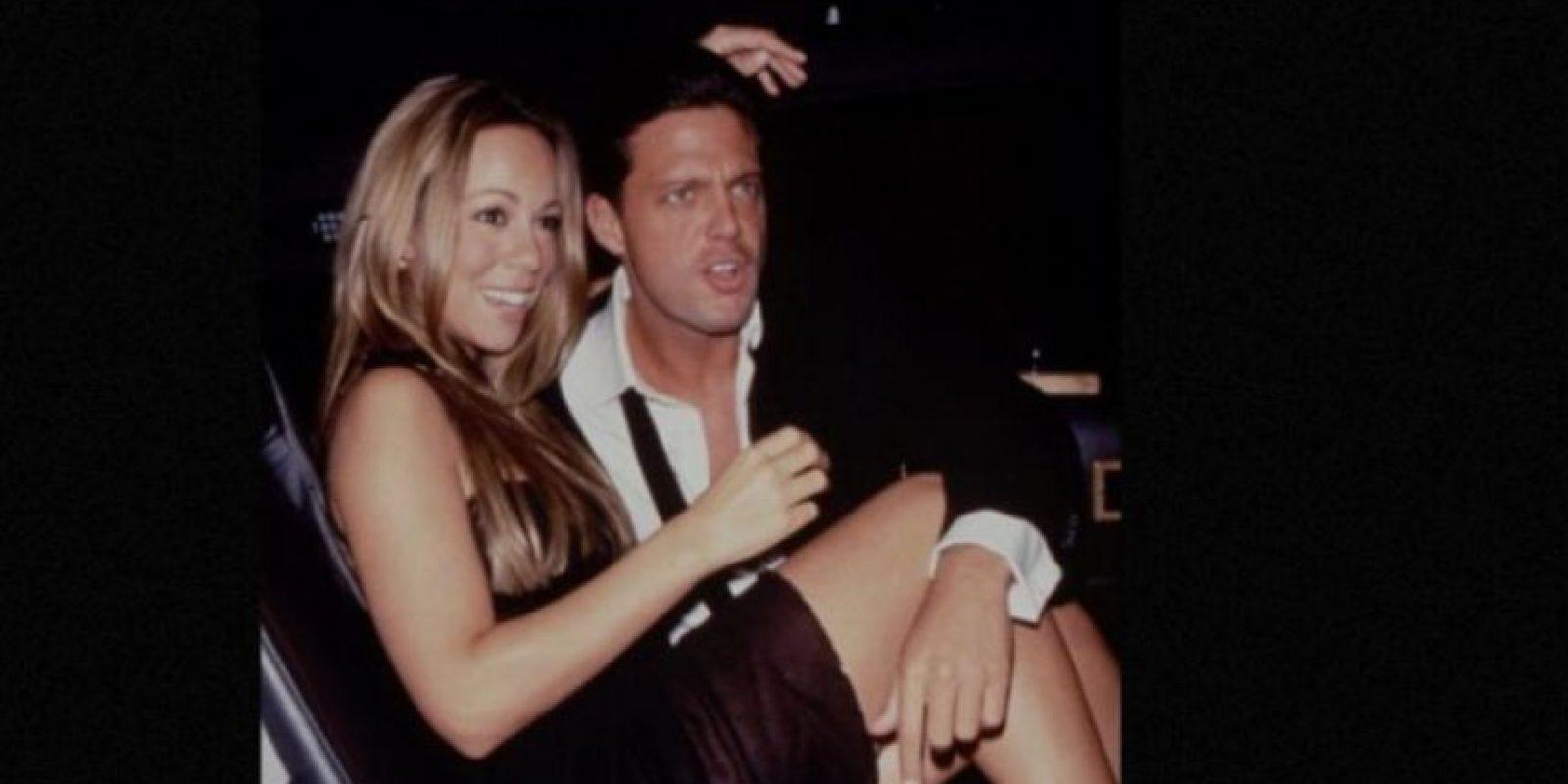 Luis Miguel ya había tenido varias novias antes de Mariah Carey. Tuvo una relación con Daisy Fuentes, Stephanie Salas (madre de su hija Michelle) y Sofía Vergara. Foto:vía Getty Images