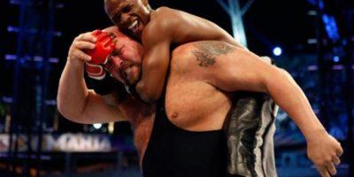 """Tras semanas de preparación, """"Money"""" y Big Show se enfrentaron y ¿qué pasó? Foto:WWE"""