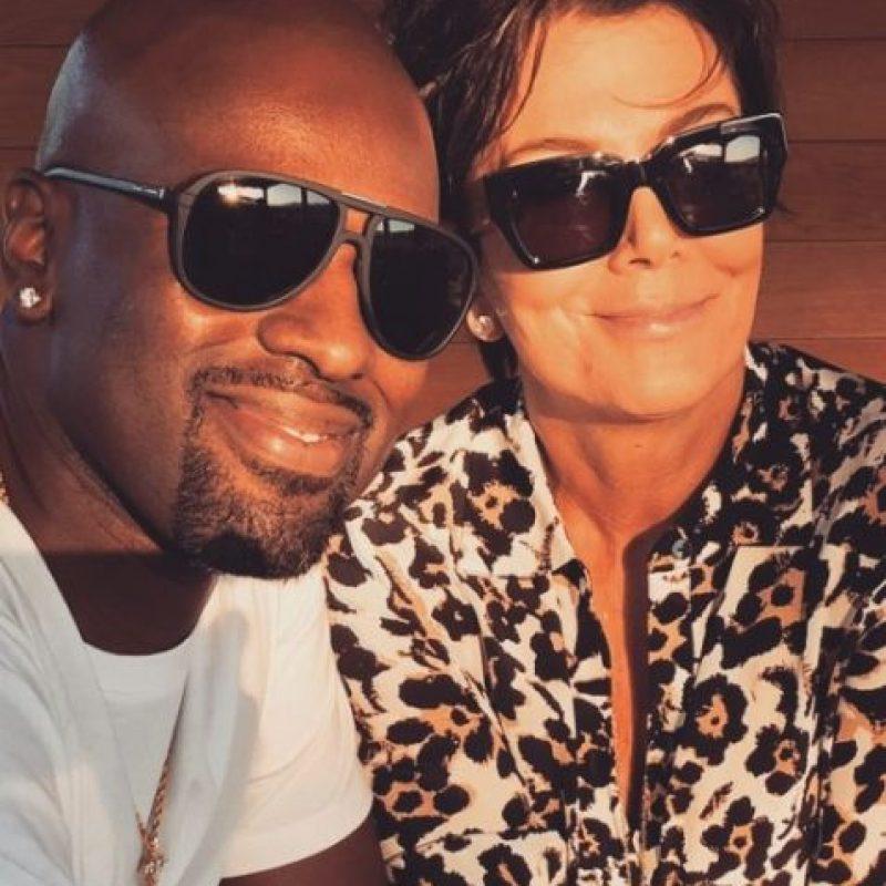 Tras su divorcio con Bruce Jenner, inició un romance con el manager de Justin Bieber, Corey Gamble. Foto:vía instagram.com/coreygamble