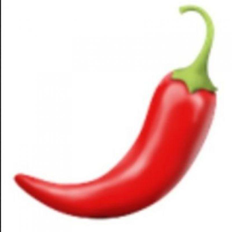 Picante rojo. Foto:vía emojipedia.org