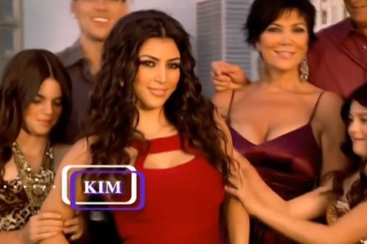 Kim Kardashian, la gran estrella del show. Foto:E! Entertainment