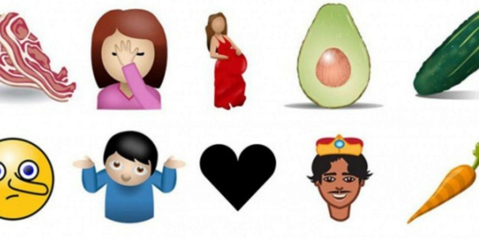 Algunos de los futuros emojos. Foto:vía Tumblr.com