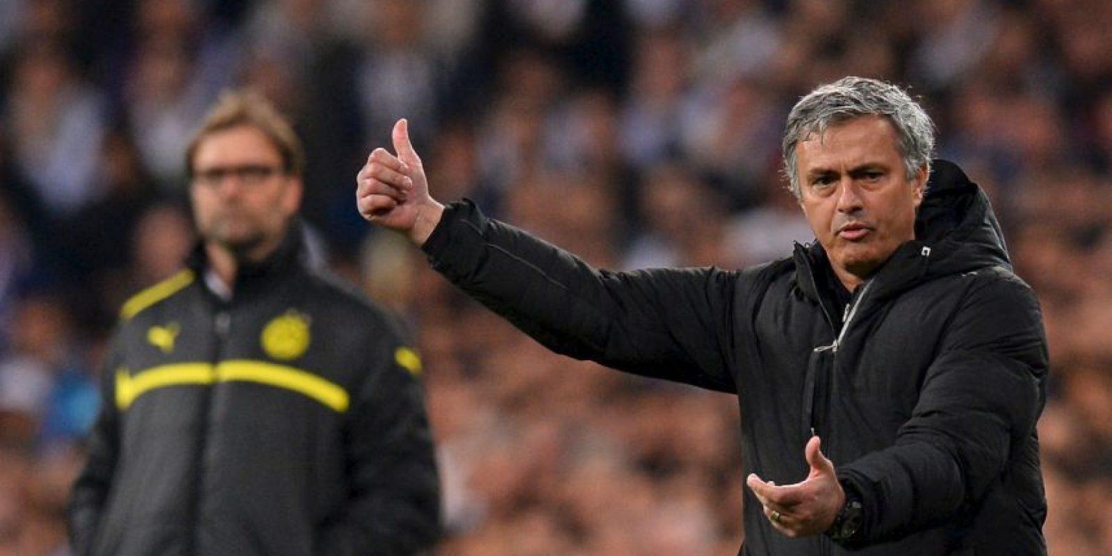 Al final de la campaña, Mourinho se marchó. Foto:Getty Images