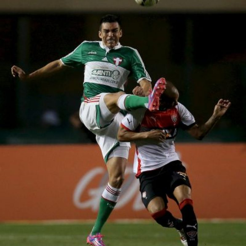 El exjugador del Inter de Milán y Bayern Munich juega para el Palmeiras. Tiene 37 años. Foto:Getty Images