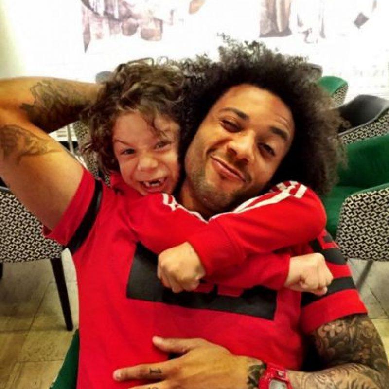 Enzo, su hijo mayor, sacó muchas características de su padre. Foto:Vía instagram.com/marcelotwelve
