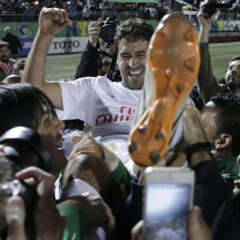 Raúl González se retiró del fútbol Foto:Getty Images