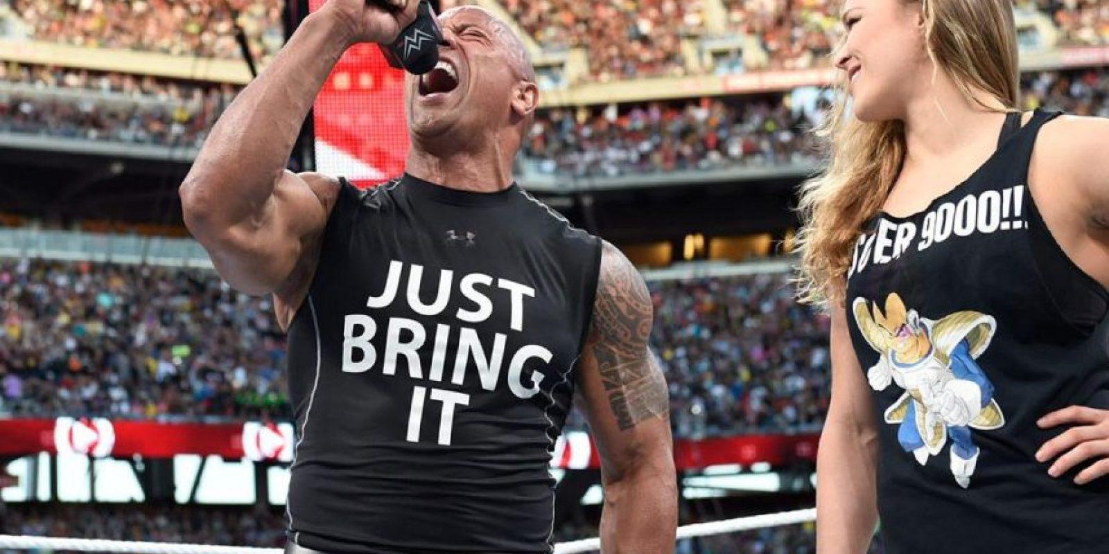 Ella ha aceptado su gusto por la lucha libre Foto:WWE