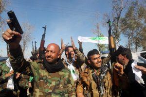 Fue el primer nombre que utilizaron. Los orígenes datan a 2013, cuando comenzó a separarse de Al-Qaeda Foto:AFP