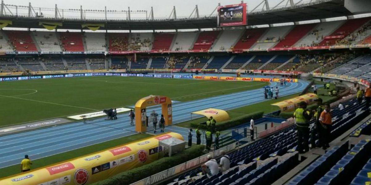 Fotos: Amenaza de tormenta eléctrica en Barranquilla para el partido