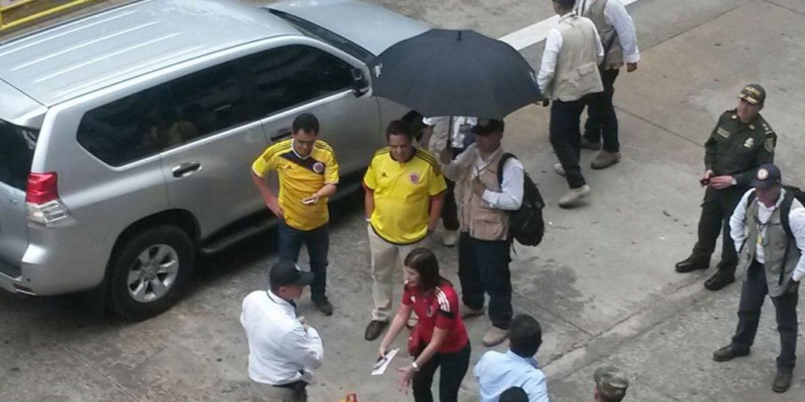 Vicepresidente Germán Vargas Lleras en el partido de la Selección Colombia. Foto:Miguel Ruiz – Publimetro
