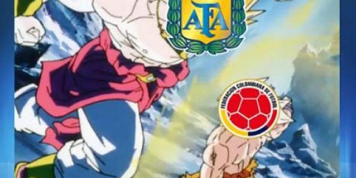 Memes del partido Colombia Vs. Argentina