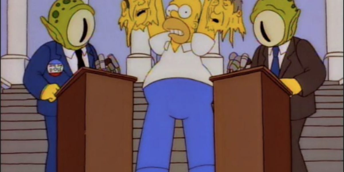 Asuntos de la actualidad de Colombia, desde la mirada de los Simpson