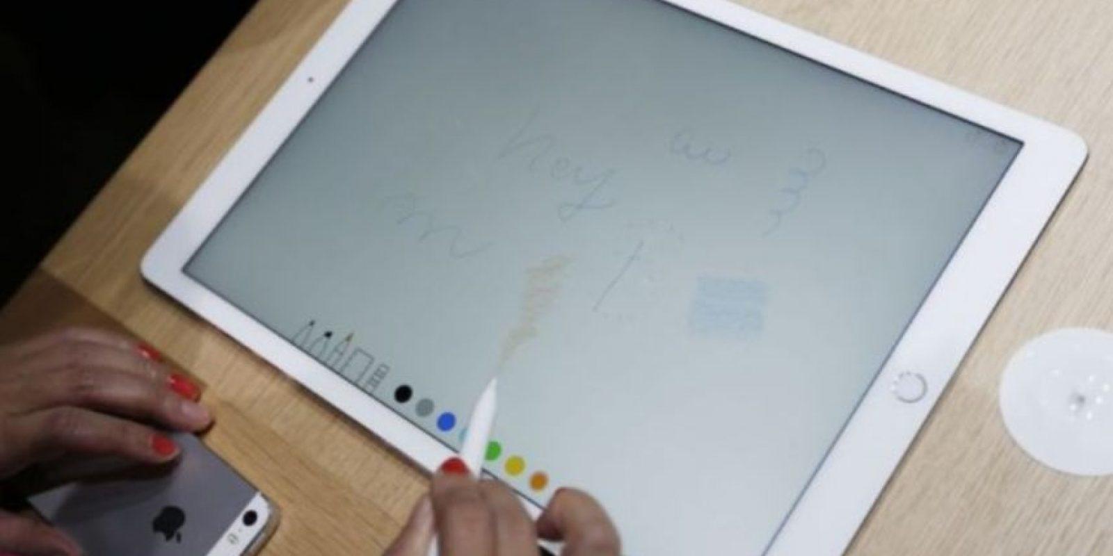 Apple Pencil ayudará en cuestiones de precisión Foto:Getty Images