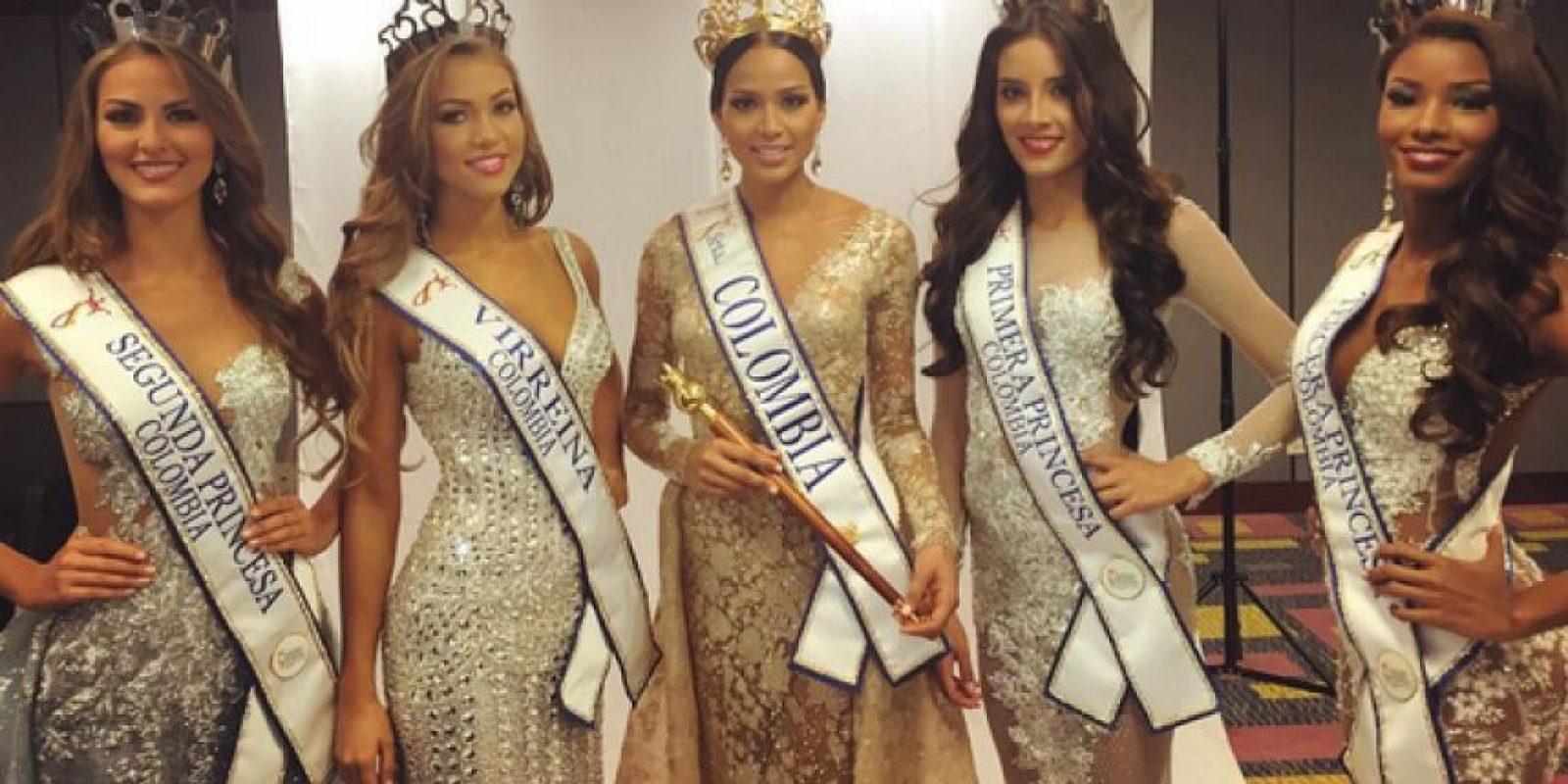 Daniela fue elegida como Virreina Nacional de la Belleza Foto:Instagram Reinado Colombia