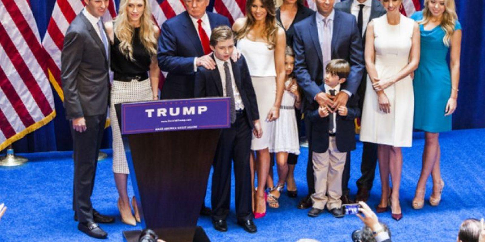 De la numerosa familia que tiene el controvertido candidato republicano Donald Trump, hay una que todavía no es empresaria. Foto:vía Instagram/tiffanytrump