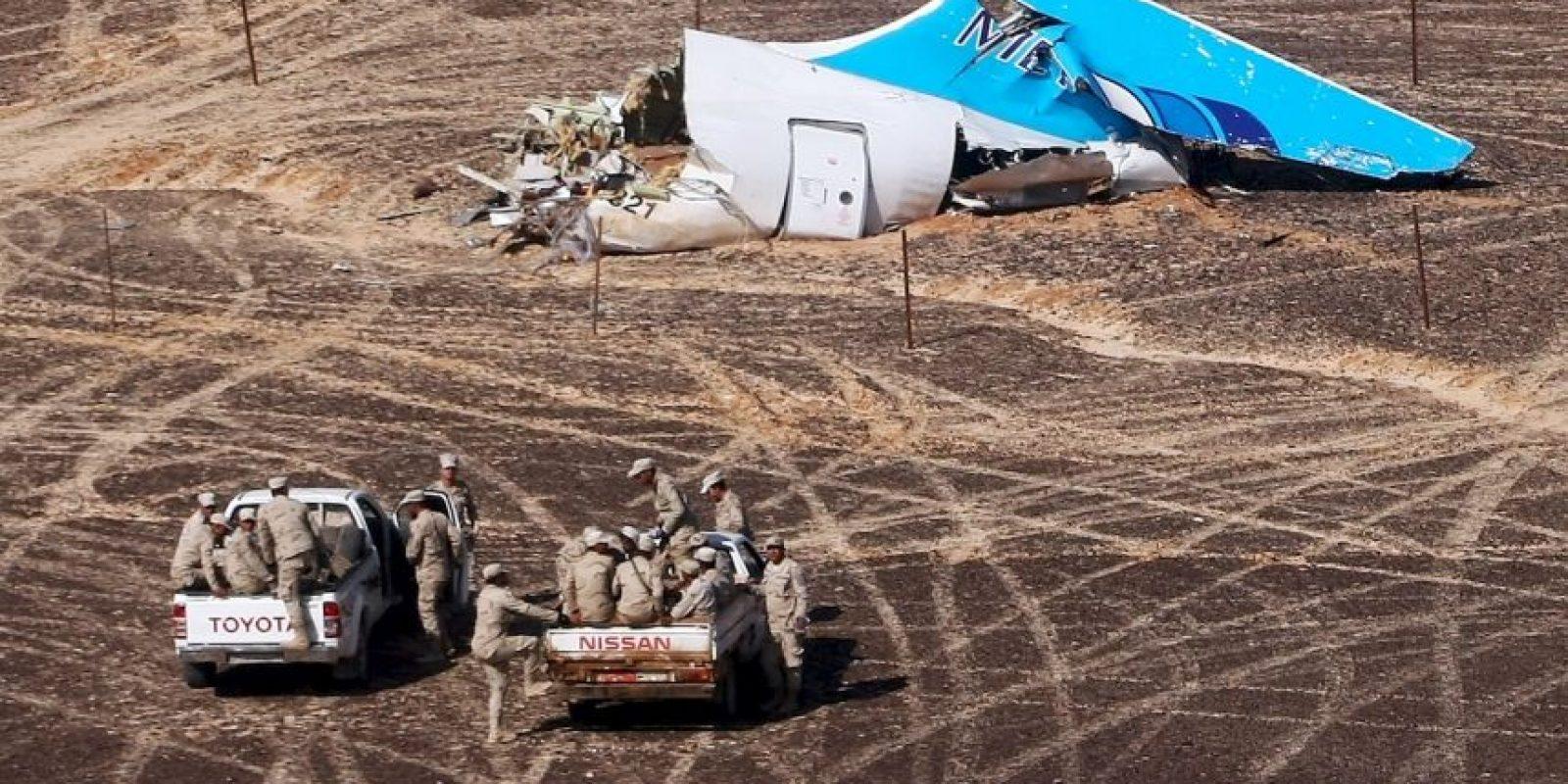 Costó la vida a 224 personas sobre la península del Sinaí, Egipto. Foto:AFP
