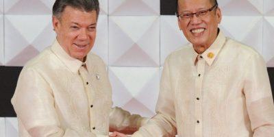 Fue invitado como observador ya que Colombia no es estado integrante de la APEC Foto:AFP