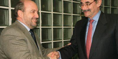 Serpa, durante la campaña presidencial de 1998 que perdió con Andrés Pastrana Foto:EFE