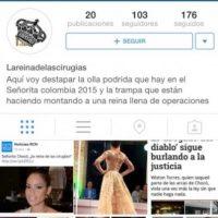 Foto:Instagram La Reina de las Cirugías