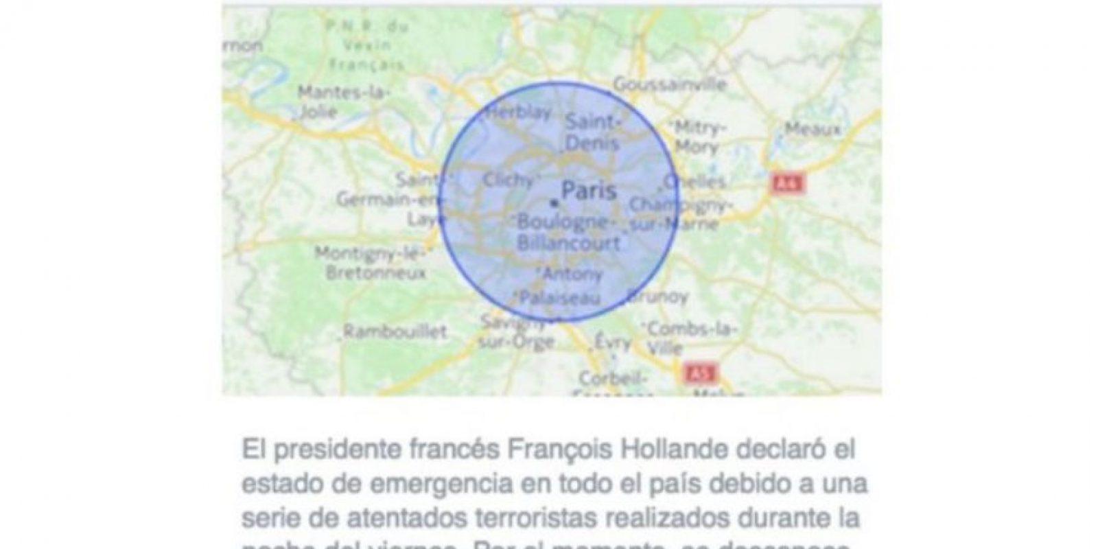 De acuerdo con reportes oficiales, 129 personas perdieron la vida. Foto:Facebook