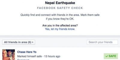 Nepal sufrió un terremoto de 7.8 grados richter el pasado 25 de abril de 2015. Foto:Facebook