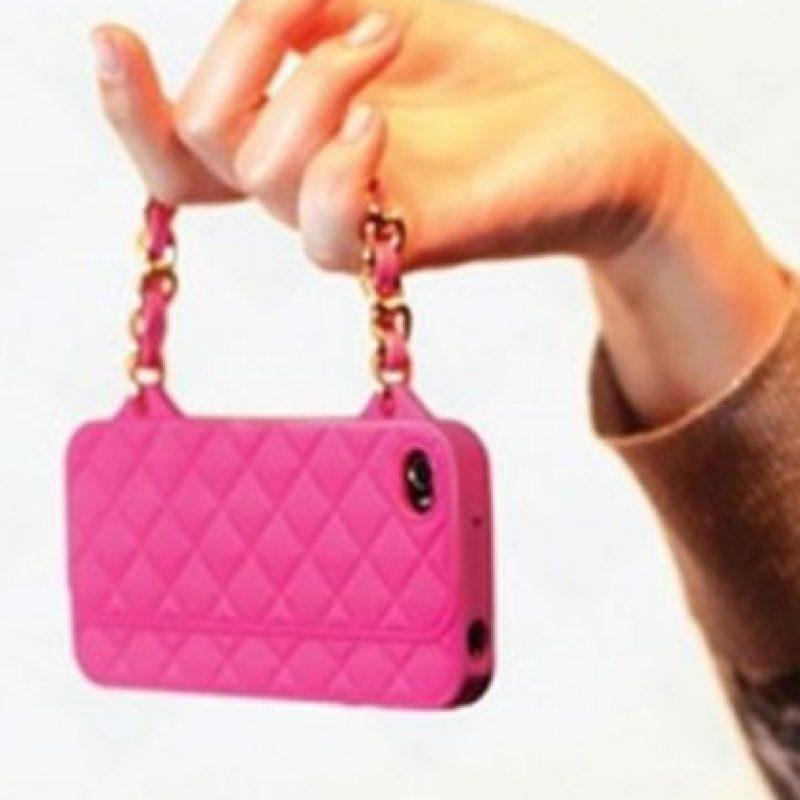 Una pequeña bolsa de mano. Foto:vía Pinterest.com