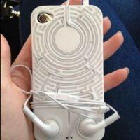 Un laberinto que no dejará que se enreden sus audífonos. Foto:vía Pinterest.com