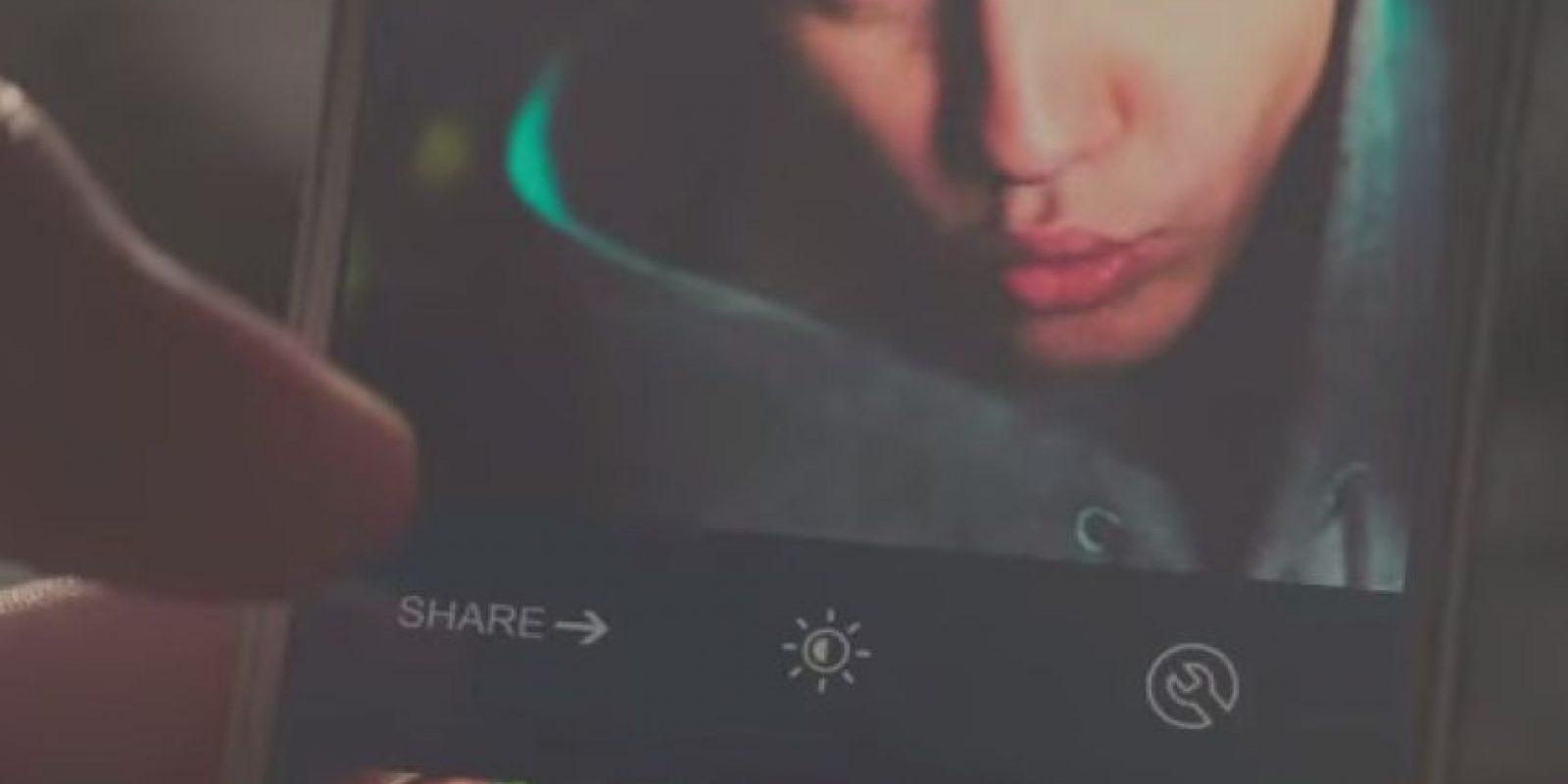 No sin antes despedirse de sus seguidoras con un selfie. Foto:Paramount Pictures