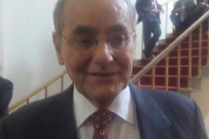 Así se lo vio en el Congreso de la República al senador santandereano Foto:Twitter – @stephmorenoo