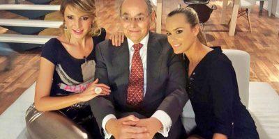 """Serpa había prometido quitarse el bigote en el programa """"Descárate sin Evadir"""" de RCN Foto:Twitter – @HoracioSerpa"""