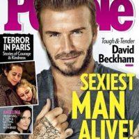 "David Beckham Foto:Revista ""People"""