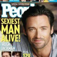 """Hugh Jackman en 2008 Foto:Revista """"People"""""""