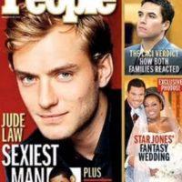 """Jude Law en 2004 Foto:Revista """"People"""""""