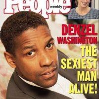 """Denzel Washington en 1996 Foto:Revista """"People"""""""