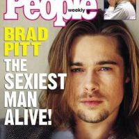 "Brad Pitt en 1995 Foto:Revista ""People"""
