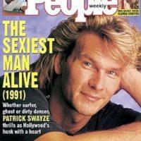 """Patrick Swayze en 1991 Foto:Revista """"People"""""""