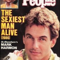 """Mark Harmon en 1986 Foto:Revista """"People"""""""