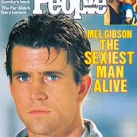"""Mel Gibson en 1985 Foto:Revista """"People"""""""