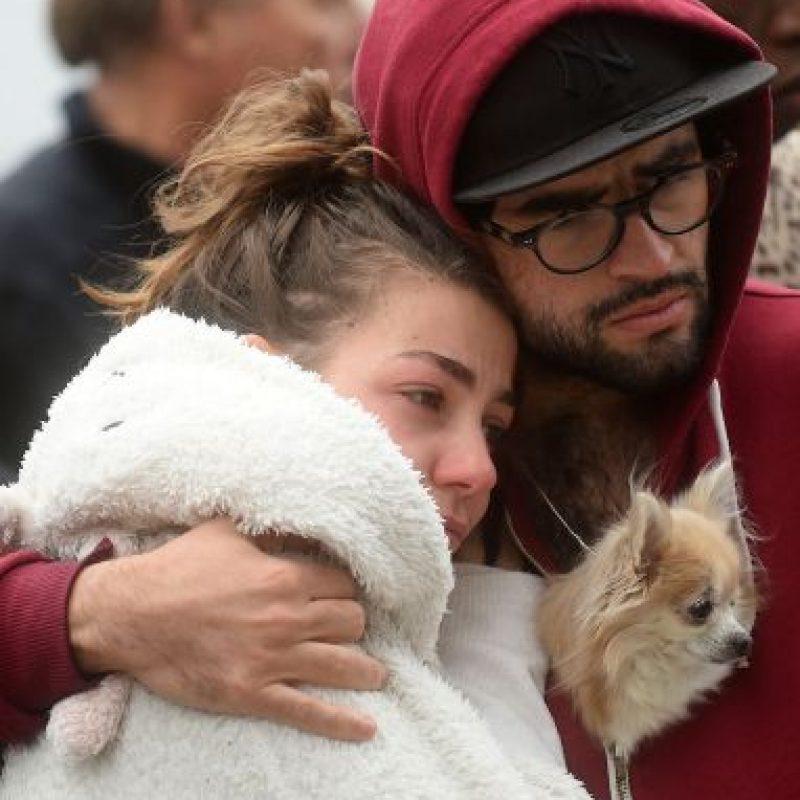 Un día después del atentado, Francia bombardeó al Estado Islámico en Siria. Foto:Getty Images