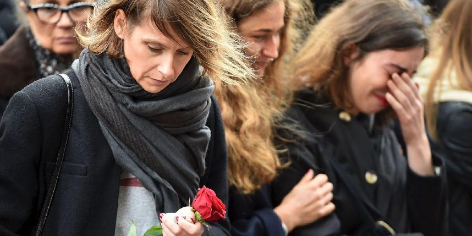 """En enero, tras los atentados a la revista """"Charlie Hebdo"""", Anonymous publicó miles de nombres de personas relacionadas al terrorismo. Foto:Getty Images"""
