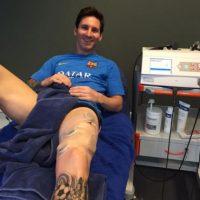 """Entonces, """"La Pulga"""" comenzó a trabajar duro para recuperarse lo más pronto posible. Foto:Vía instagram.com/leomessi"""