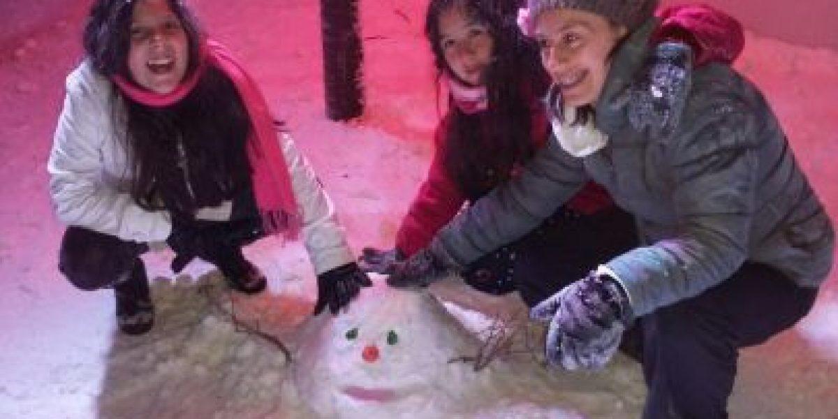Llega la nieve a Medellín, nueva atracción a -25 grados centígrados